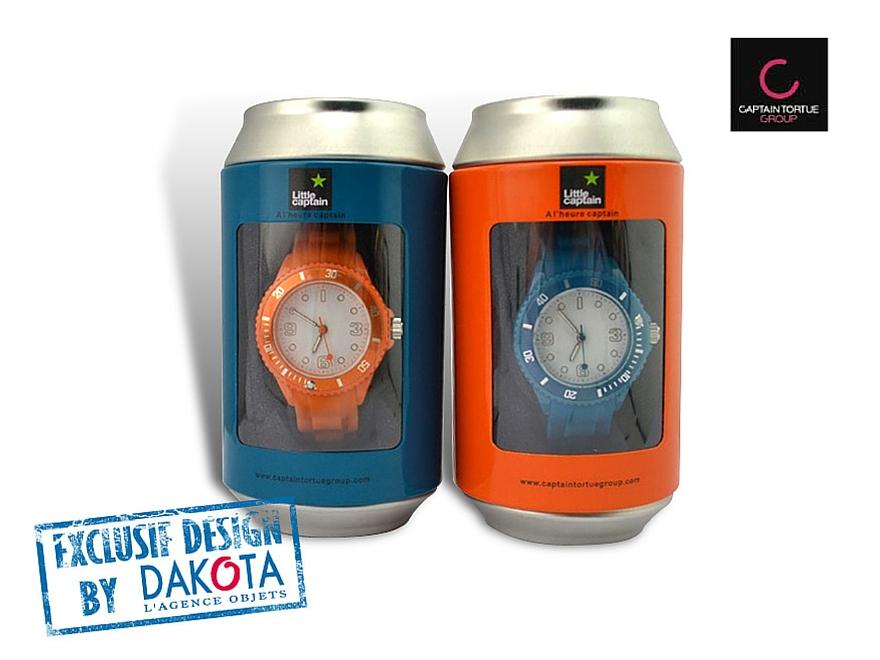 Dakota_cadeaux publicitaires_objets publicitaires_objet publicitaire Lyon_montres captain tortue