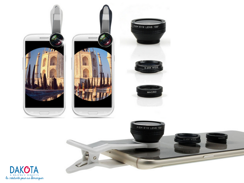 Lentilles caméra