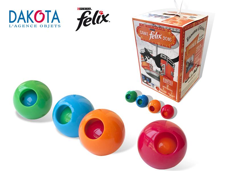 Dakota cadeau publicitaire animaux objets publicitaires Lyon ACTUALITES ST FELIX Balles