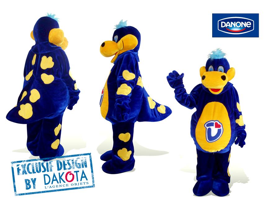 Dakota cadeaux publicitaires originaux objets publicitaires_objet publicitaire Lyon étude de cas Danone deguisement