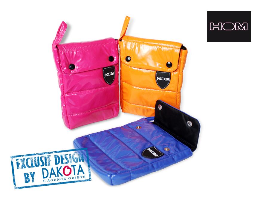 Dakota cadeau publicitaire personnalisé objets publicitaires_objet publicitaire Lyon etude de cas hom pochette