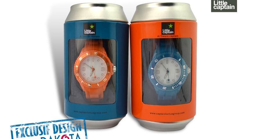 Dakota cadeau promotionnel objets publicitaires_objet publicitaire Lyon etude de cas little captain montres