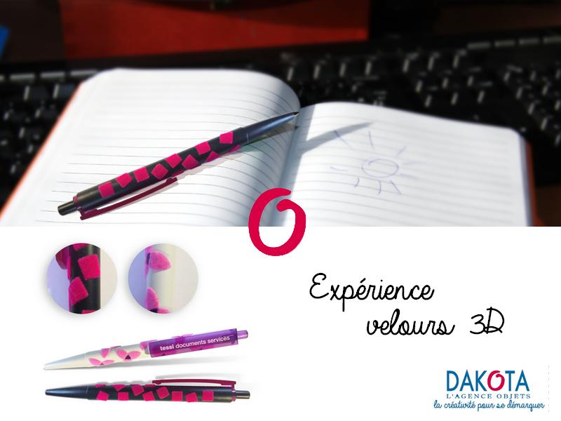 Dakota cadeau publicitaire personalisé stylo velvet