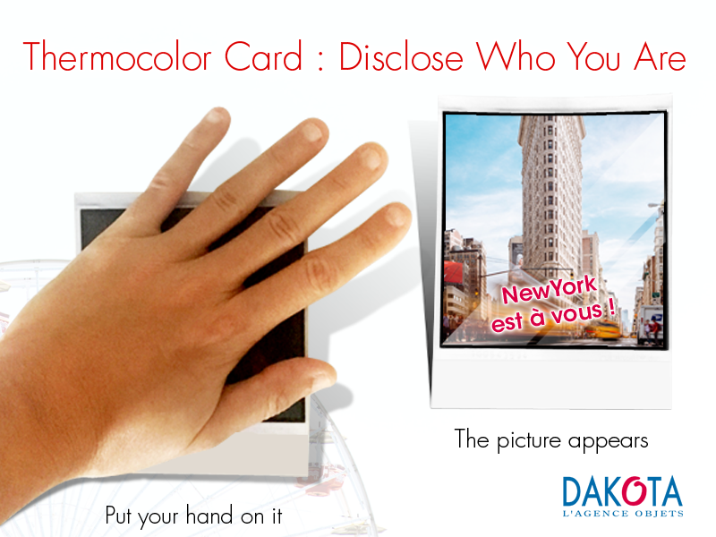 Dakota objet publicitaire client entreprise Thermocolor-Card-DAKOTA