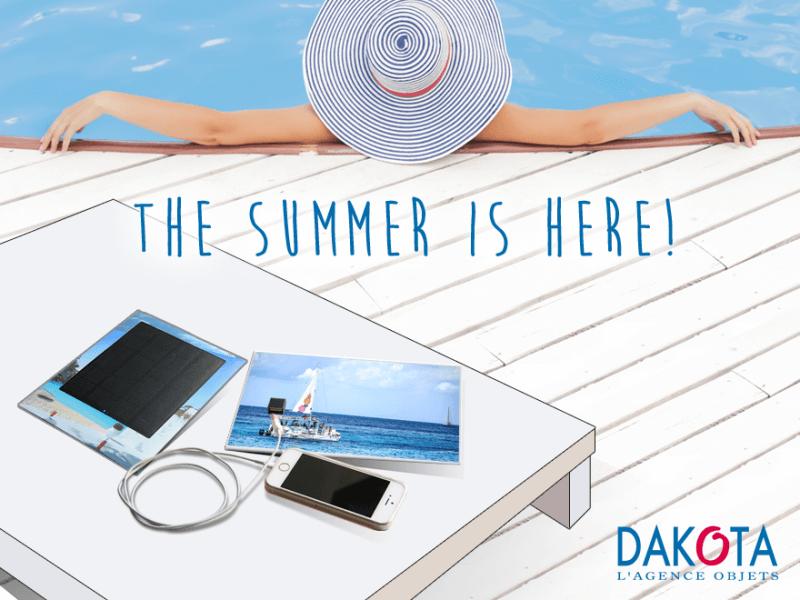 Dakota_cadeau promotionnel the summer is here