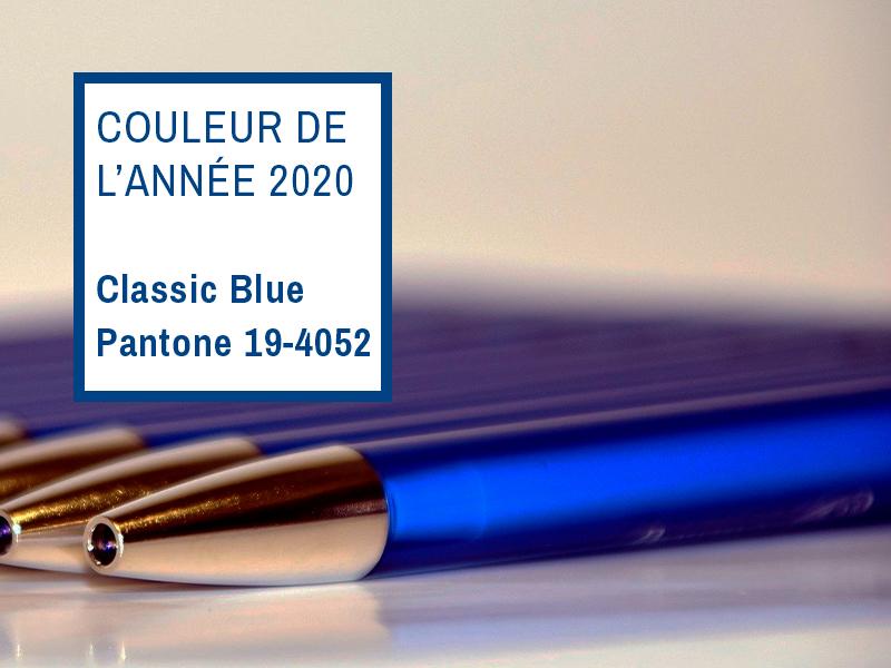 DAKOTA-Goodies entreprise-pantone Classic Blue 2020