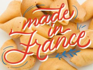 Fortune cookie personnalisé-Gateau chinois message-Made in France-Dakota Pub